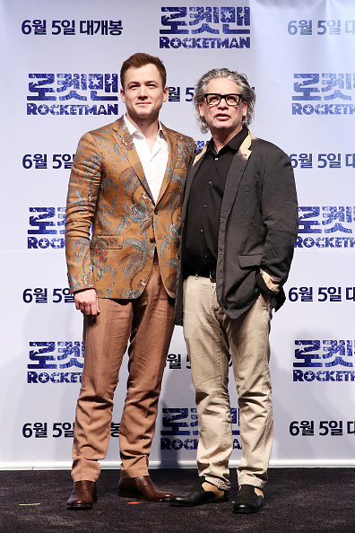 Tropical Pattern「'Rocketman' South Korea Premiere - Press Conference/Photo Call」:写真・画像(7)[壁紙.com]