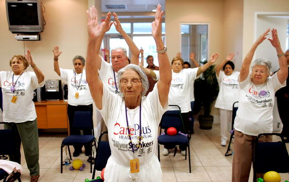 Adult「New Model For Health Care For Seniors Focuses On Primary Care」:写真・画像(8)[壁紙.com]