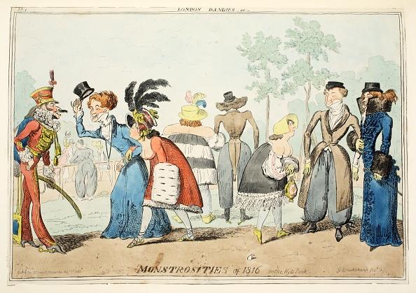 Tail Coat「London Dandies Or Monstrosities Of 1815」:写真・画像(3)[壁紙.com]