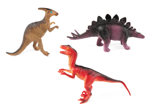 恐竜「トーイ恐竜、ホワイト」:スマホ壁紙(10)