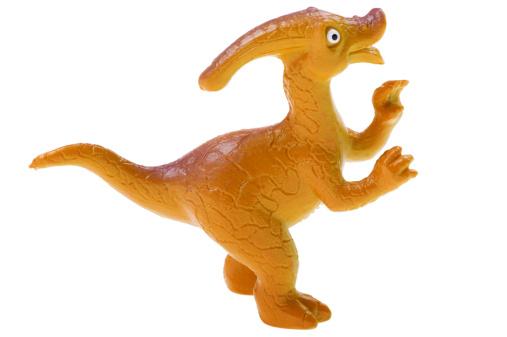 恐竜「toy dinosaur on white」:スマホ壁紙(15)