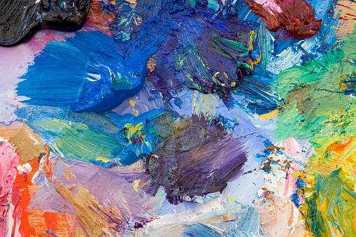 Masterpiece「アーティストの油絵パレット」:スマホ壁紙(13)