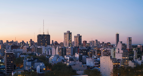Buenos Aires「Sunrise in Buenos Aires」:スマホ壁紙(3)