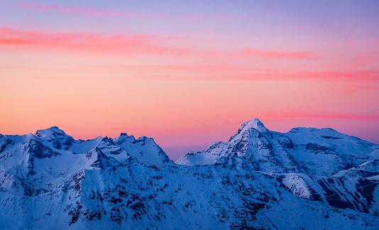 Snowboarding「Sunrise in Valais/Ticino」:スマホ壁紙(12)
