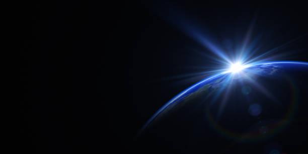日の出のスペース:スマホ壁紙(壁紙.com)