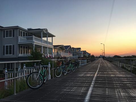 ニュージャージー州 ジャージー・ショア「Sunrise in Ocean City New Jersey」:スマホ壁紙(0)