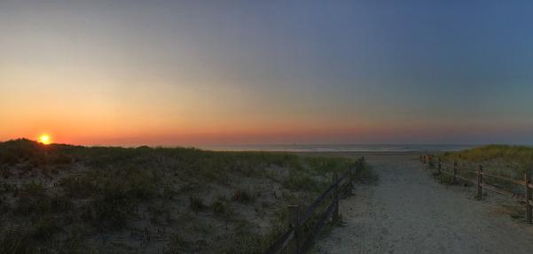 ニュージャージー州 ジャージー・ショア「Sunrise in Ocean City New Jersey」:スマホ壁紙(12)