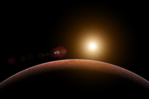 Solar System「Sunrise in Mars」:スマホ壁紙(11)
