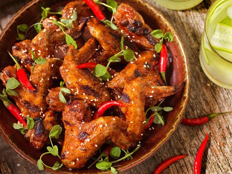Chicken Wing「BBQ Whole Chicken Wings」:スマホ壁紙(16)