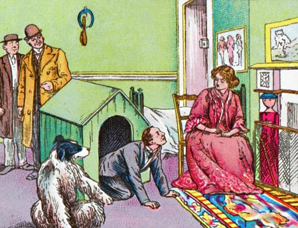 Transfer Print「Mr Darling In The Kennel」:写真・画像(6)[壁紙.com]