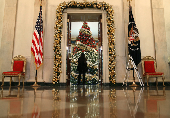 Holiday - Event「First Lady Debuts White House Holiday Decorations」:写真・画像(12)[壁紙.com]