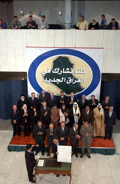 Iraqi Governing council「Iraqi Council Signs Interim Constitution」:写真・画像(8)[壁紙.com]