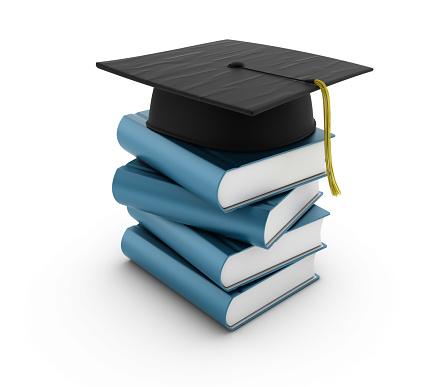 縁なし帽子「スタックの書籍、卒業式キャップ」:スマホ壁紙(18)