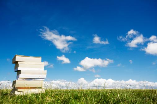 草地「スタックの書籍」:スマホ壁紙(0)
