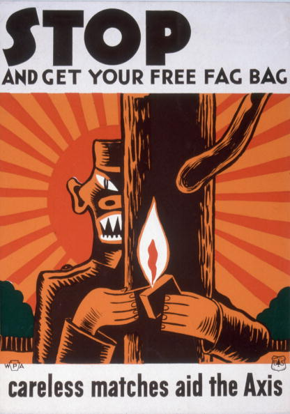 Tree「'Stop And Get Your Free Fag Bag' Poster」:写真・画像(11)[壁紙.com]