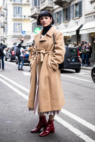 ストリートスナップ「Ermanno Scervino - Street Style - Milan Fashion Week 2019」:写真・画像(10)[壁紙.com]