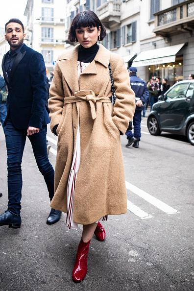 ストリートスナップ「Ermanno Scervino - Street Style - Milan Fashion Week 2019」:写真・画像(7)[壁紙.com]