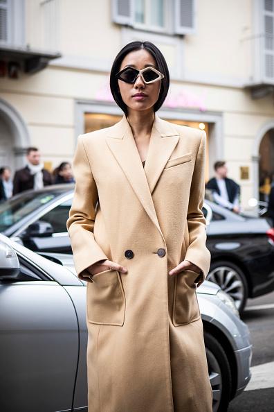 ストリートスナップ「Ermanno Scervino - Street Style - Milan Fashion Week 2019」:写真・画像(17)[壁紙.com]