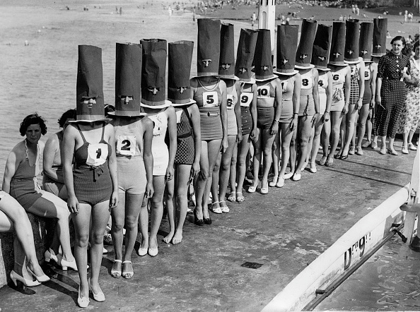 Beauty「Beauty contest in Cliftonville. Photograph. 1936.  (Photo by Austrian Archives (S)/Imagno/Getty Images)」:写真・画像(11)[壁紙.com]