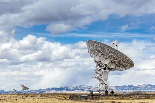 Hand-Held Telescope「Very Large Array VLA Radio Astronomy Telescope New Mexico」:スマホ壁紙(16)