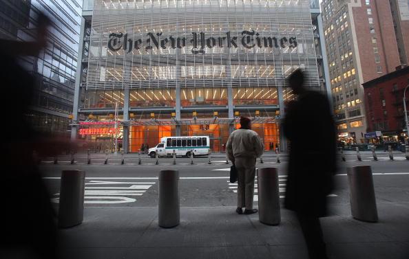 New York City「New York Times Seeks Buyouts Before Imposing Layoffs」:写真・画像(14)[壁紙.com]