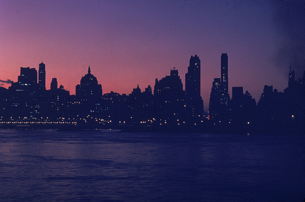 Urban Skyline「NYC Skyline At Dusk」:写真・画像(12)[壁紙.com]