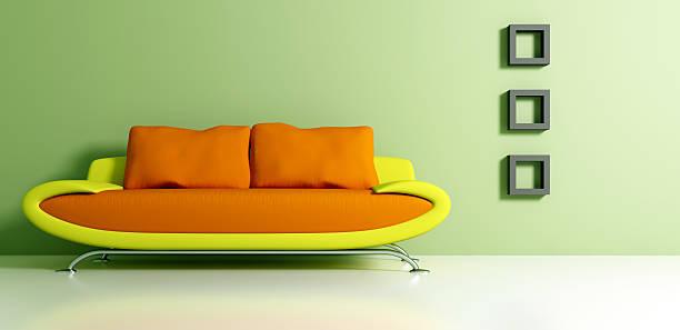 Retro Mod Couch and Interior Decorating:スマホ壁紙(壁紙.com)