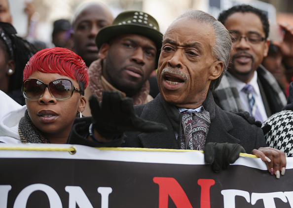 """Michael Brown - Shooting Victim「Sharpton Leads National """"Justice For All"""" March In Washington DC」:写真・画像(5)[壁紙.com]"""