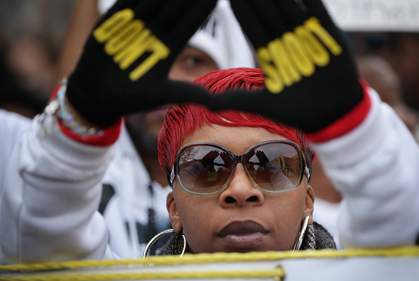 """Michael Brown - Shooting Victim「Sharpton Leads National """"Justice For All"""" March In Washington DC」:写真・画像(0)[壁紙.com]"""