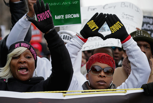 """Michael Brown - Shooting Victim「Sharpton Leads National """"Justice For All"""" March In Washington DC」:写真・画像(1)[壁紙.com]"""