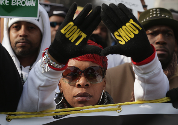 """Michael Brown - Shooting Victim「Sharpton Leads National """"Justice For All"""" March In Washington DC」:写真・画像(2)[壁紙.com]"""