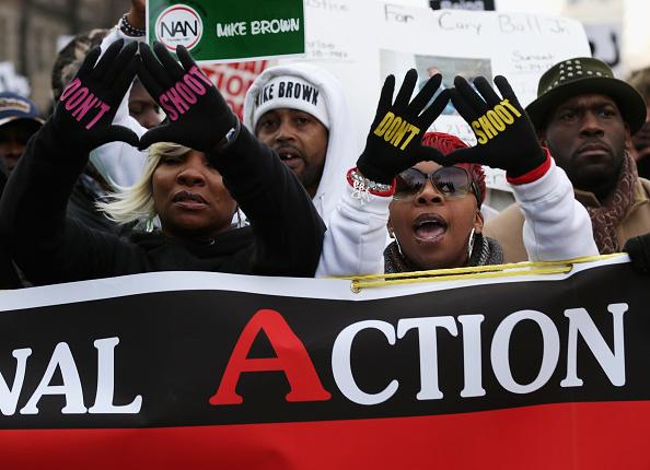 """Michael Brown - Shooting Victim「Sharpton Leads National """"Justice For All"""" March In Washington DC」:写真・画像(4)[壁紙.com]"""