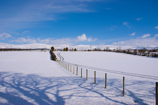 Pennine Alps「North Pennines in winter.」:スマホ壁紙(14)