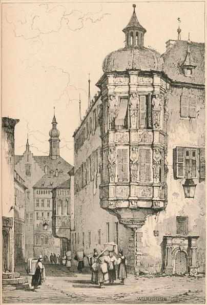City Life「'Wurzburg', C1820 (1915)」:写真・画像(2)[壁紙.com]