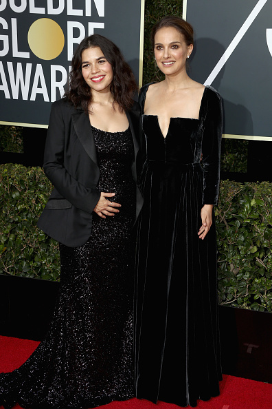 America Ferrera「75th Annual Golden Globe Awards - Arrivals」:写真・画像(11)[壁紙.com]