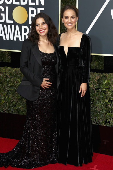 America Ferrera「75th Annual Golden Globe Awards - Arrivals」:写真・画像(10)[壁紙.com]