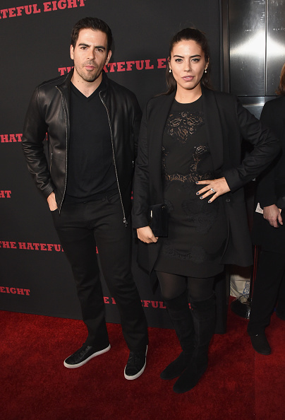 """Leather Jacket「Premiere Of The Weinstein Company's """"The Hateful Eight"""" - Arrivals」:写真・画像(12)[壁紙.com]"""