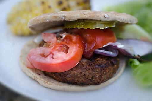 Veggie Burger「Vegan Hamburger」:スマホ壁紙(4)