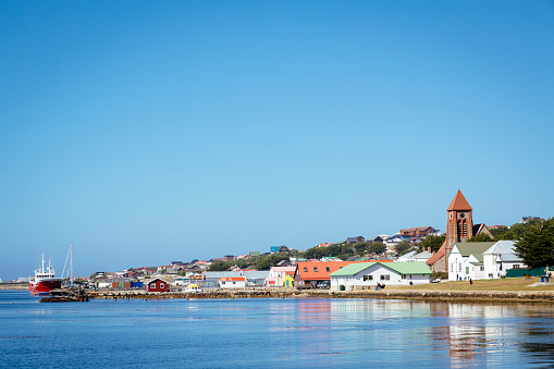 Falkland Islands「Stanley waterfront, Falkland Islands」:スマホ壁紙(0)