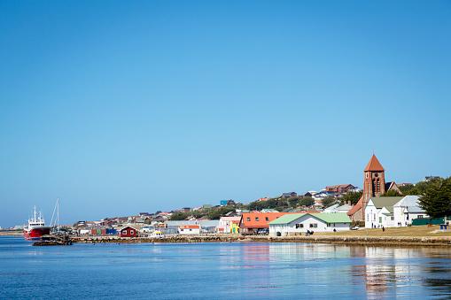 Southern Atlantic Islands「Stanley waterfront, Falkland Islands」:スマホ壁紙(4)