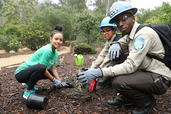 "Volunteer「Sierra Club, National Parks Conservation Assoc & EMA Host A ""Give Back Day"" At Franklin Canyon Park To Celebrate The National Park Service Centennial」:写真・画像(9)[壁紙.com]"