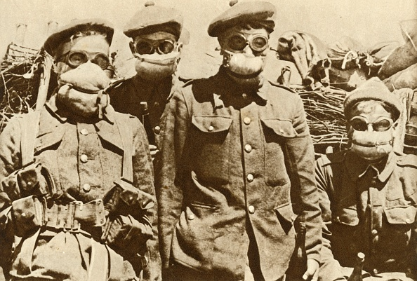 Chemical「Early Gas Masks」:写真・画像(8)[壁紙.com]
