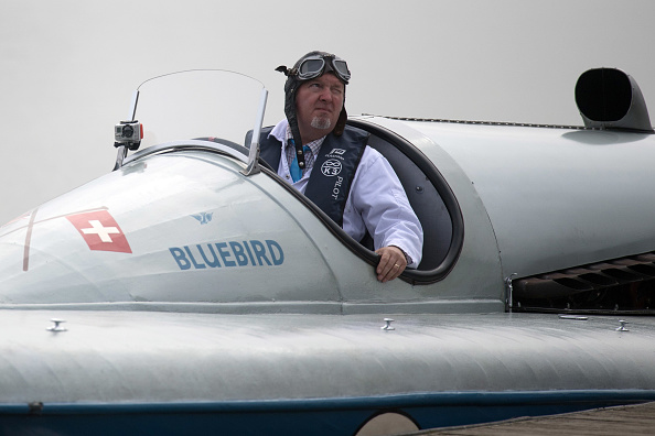 ヒューマンインタレスト「Test Run Of Powerboat Blue Bird K3 At Kent's Bewl Water」:写真・画像(6)[壁紙.com]