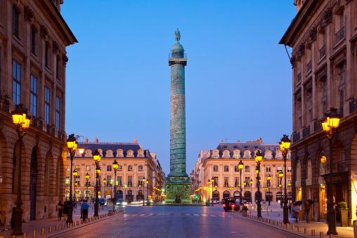France「Vendome Column, Place Vendome, Paris, France」:スマホ壁紙(5)