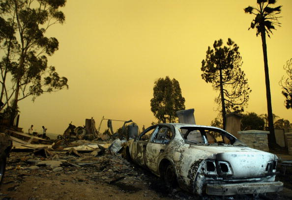 Damaged「Fire Damages Grow In Southern California」:写真・画像(17)[壁紙.com]
