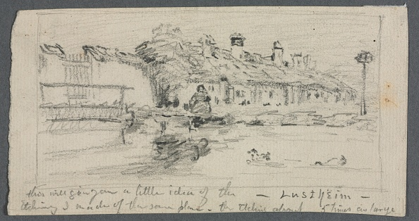 Pencil「Lustheim. Creator: Otto H. Bacher (American」:写真・画像(18)[壁紙.com]