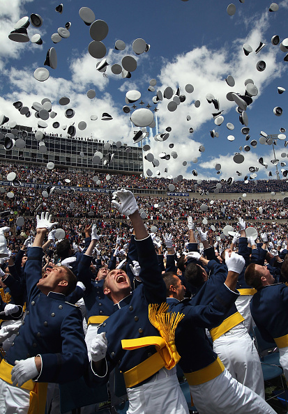 Air Force「Cadets Celebrate At Air Force Academy Graduation」:写真・画像(11)[壁紙.com]