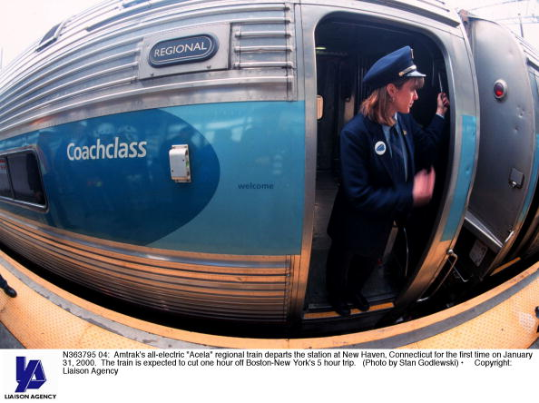 Electric Train「Amtrak's all-electric train Acela」:写真・画像(13)[壁紙.com]