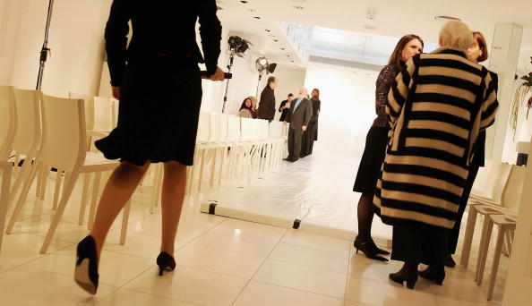 Tiled Floor「London Fashion Week - Jean Muir」:写真・画像(15)[壁紙.com]