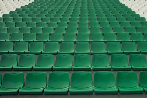 Green Color「stadium seating」:スマホ壁紙(2)